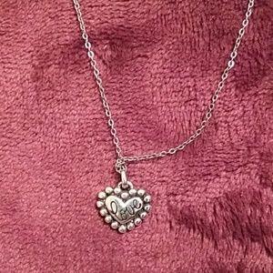 Brighton be mine heart pendant necklace